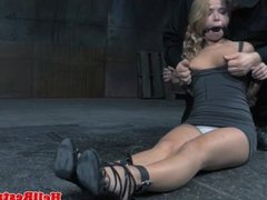 Tiedup sub paddled by tormenter