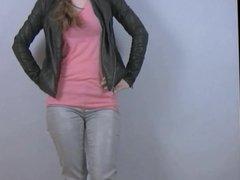 Desperation Jayne - Jayne,s Shiny Wet Jeans