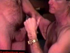 Straight mature bear first gay dick suck