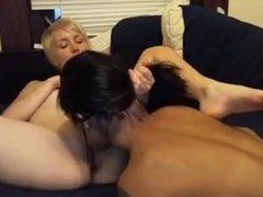 Asian Lesbians Love White Girls 7
