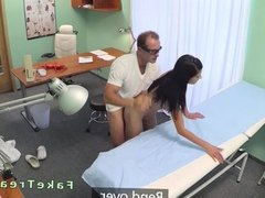 Doctor fucks stunning patient in the hospital