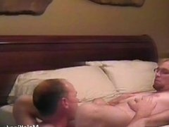 Two sexy gay are completely naked on the