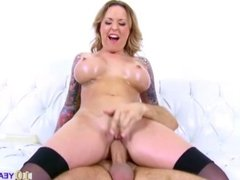 Big bouncy boobed Payton West fucked