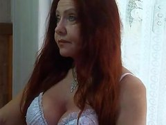 Mature redhead Brazilian part 1