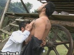Lovely Latino Gay Hard Bareback Action
