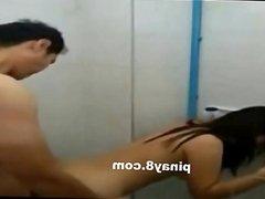 Pinay Bathroom sex