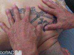 HD GayRoom - Travis gets massaged by guy