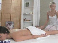 Massage Rooms Sexy blonde masseuse