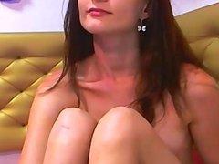 Ukrainian Webcam Babe MilanaSky Fingering