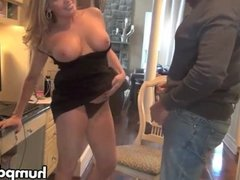 Horny amateur couple banging