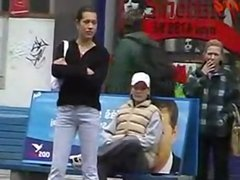 Pissgirl In Public