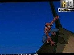 Superhero Porn - Spider-man vs Gwen Satcey