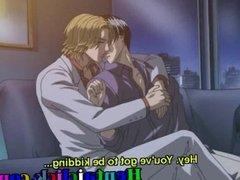 Hentai gay hardcore licking sex in bedroom