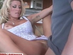 Jill Kelly fucked then blowing the guy