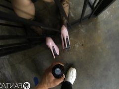 HD FantasyHD - Ultimate caged submissive girl