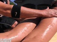 Big Ass Latina Bianca Dagger Banged From Behi