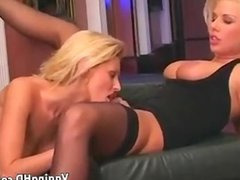Sexy Blondes Licking Pussy