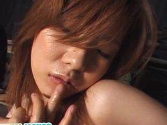 Hot porn show with Kaori