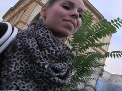 PublicAgent - Sexy brunette take cash for sex