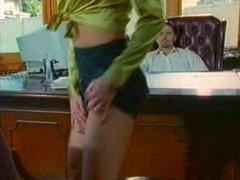 Raquel Darrian gets fucked on a desk