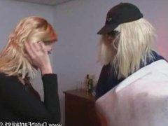 Weird Dutch Dude Fucks Hot Blonde