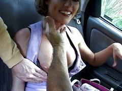 Horny stockings MILF doing it