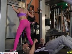 Athlete babe Marsha May fucking