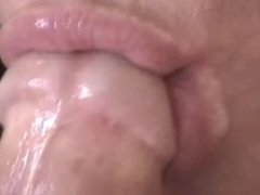 Blowjob Super Closeup View