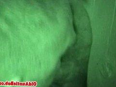 Gloryhole gay bears closeup bj in nightvision