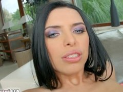 All Internal Hot creampie drips from kyra