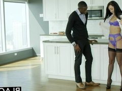 BLACKED Husband Does Not Know Wife Sabrina Ba