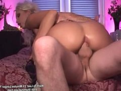 Horny Sexy Blonde Fuck In Her Tigh Ass