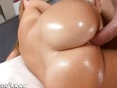 Jessie's Perfect Oiled Ass