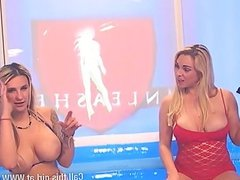 Victoria Summers & Jessica Lloys in pool