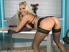 Danni Harwood, sexy secretary 2