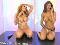 Preeti Young & Maisie Rain together