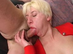 Russian blonde mature sex