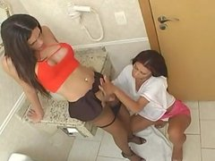 Tranny Fuck Girl In Public Toilet