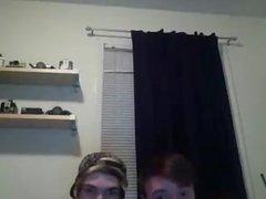 En La Webcam Con Mi Amigo