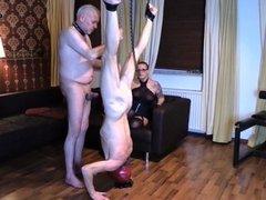 Ausgeliefert GAY - Blowjobs im Seilzug!