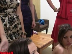 Lesbian teens pussyeating hazing dare