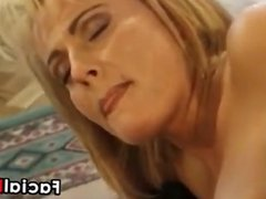 Blonde Mother In Stockings