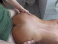 bathroom sex with my blonde GF Claire
