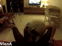 Blonde Teen Does Anal With A BBC