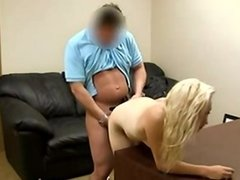 Young Beauty's Anal Casting