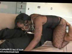 Perfect ass shape Beauty Dior takes a BBC