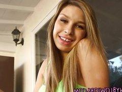 Latina teen blows rod
