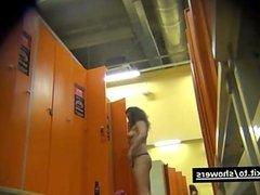Beautiful Women spied in a locker room