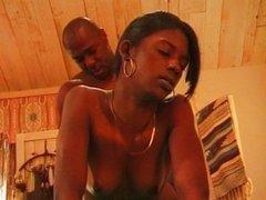 Homemade fucking Ebony couple