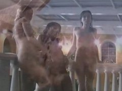 Naked Women Wet and Wild Water Park